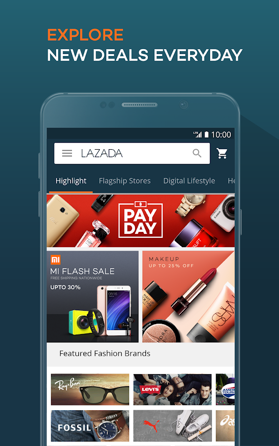 Lazada - Online Shopping & Deals- screenshot