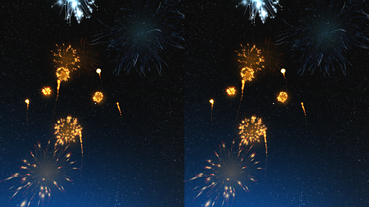 Fireworks VR Show on Cardboard screenshot 4