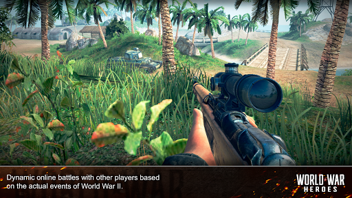 World War Heroes: WW2 FPS Shooting games! 1.6.3 screenshots 8