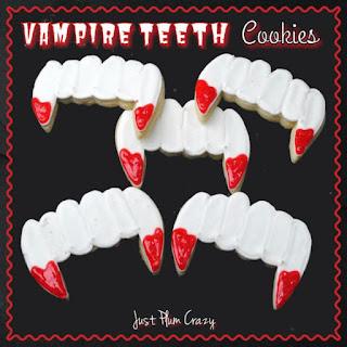 Vampire Teeth Cookie Recipe!