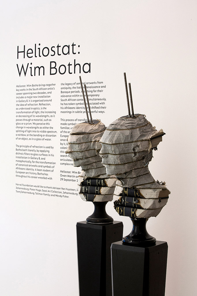 Wim Botha's art on exhibition at the Norval Foundation.