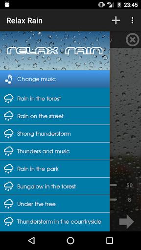 Relax Rain – Rain sounds v4.8.0 [Premium]