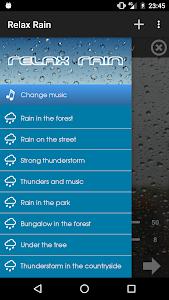 Relax Rain ~ Rain Sounds v4.3.1 (Premium)