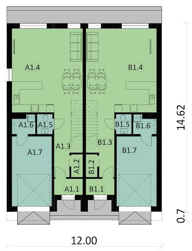 Ka13 - Rzut parteru