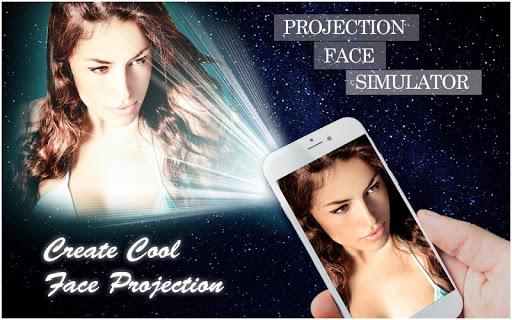 Projector Face Simulator Prank