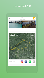 Relive Running & Cycling - náhled