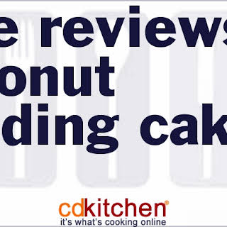 Rave Reviews Coconut Pudding Cake.