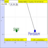 Pendulum not SHM? Virtual Lab
