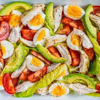 Chicken Avocado + Egg Salad.