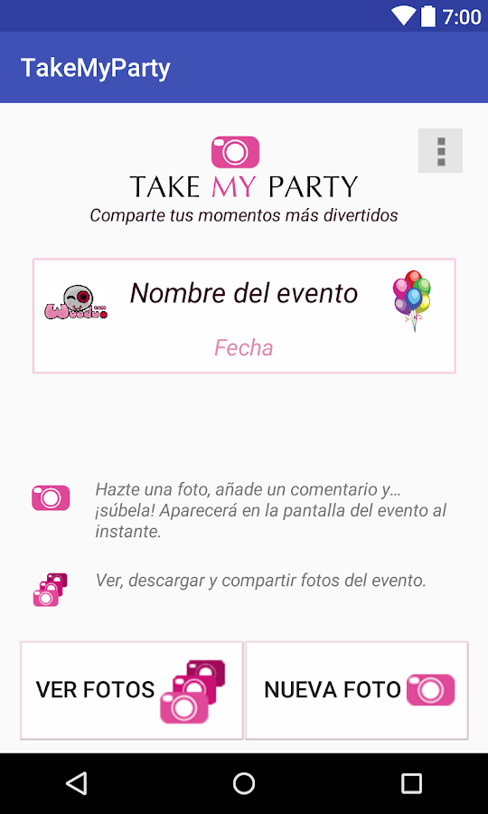 TakeMYparty- screenshot
