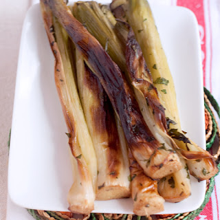 Roasted Leeks