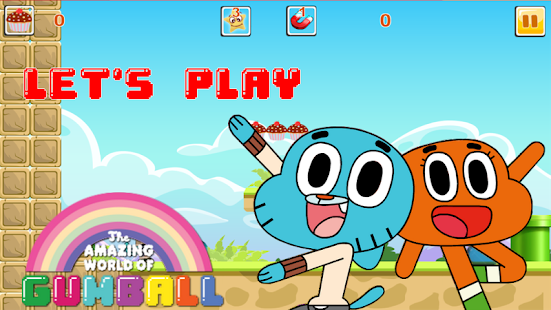 The Adventure of Gumball - náhled