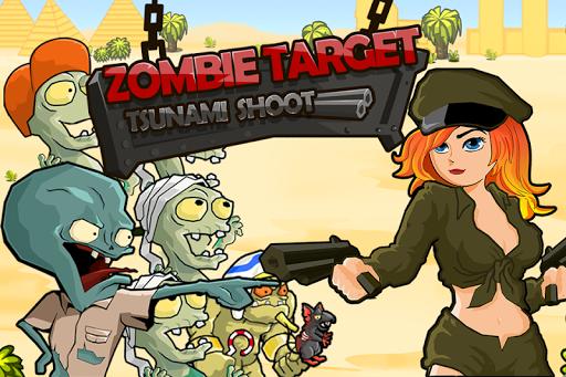 Zombie Target : Tsunami Shoot 1.2 screenshots 1