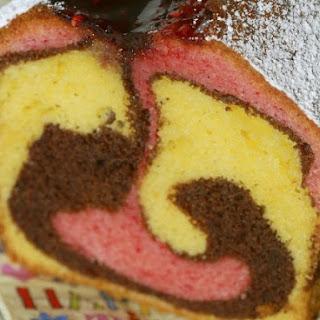 Kids Marble Loaf Cake