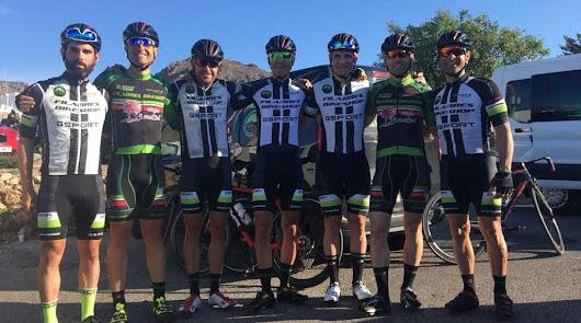 Filabres Bikeshop hace podio en La Vuelta