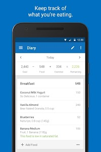 Calorie Counter - MyFitnessPal 19.9.0 (Subscribed)