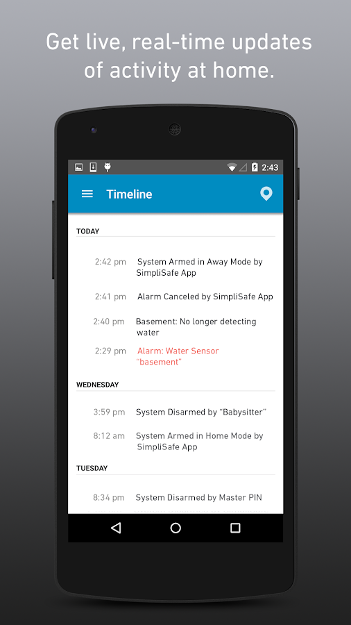 Simplisafe Home Security App Android Apps On Google Play