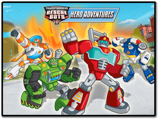 Transformers Rescue Bots: Hero Adventures 1.5 APK MOD screenshots 1