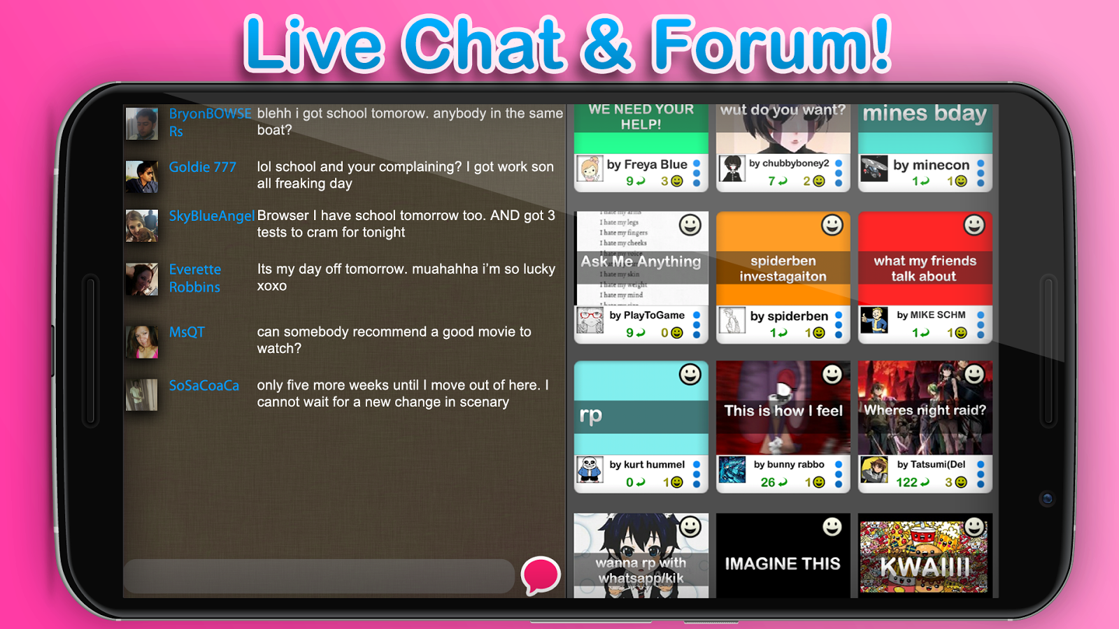 chat room play