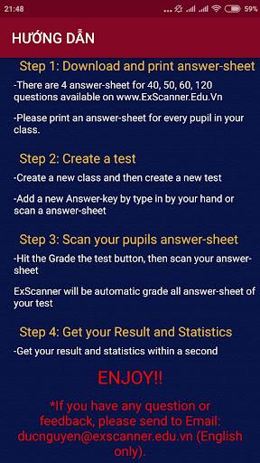 Download ExScanner u2013 Free Multiple Choice Test Grader 2.9.1 2