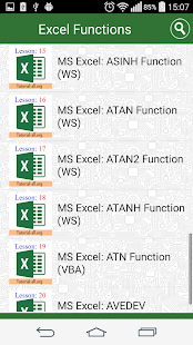 Guide Functions in Excel- screenshot thumbnail
