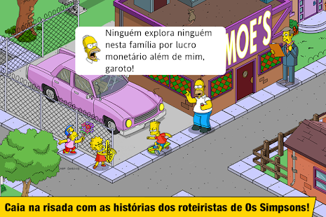 The Simpsons™: Tapped Out: miniatura da captura de tela