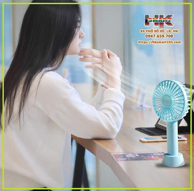 Quạt mini sạc điện cầm tay