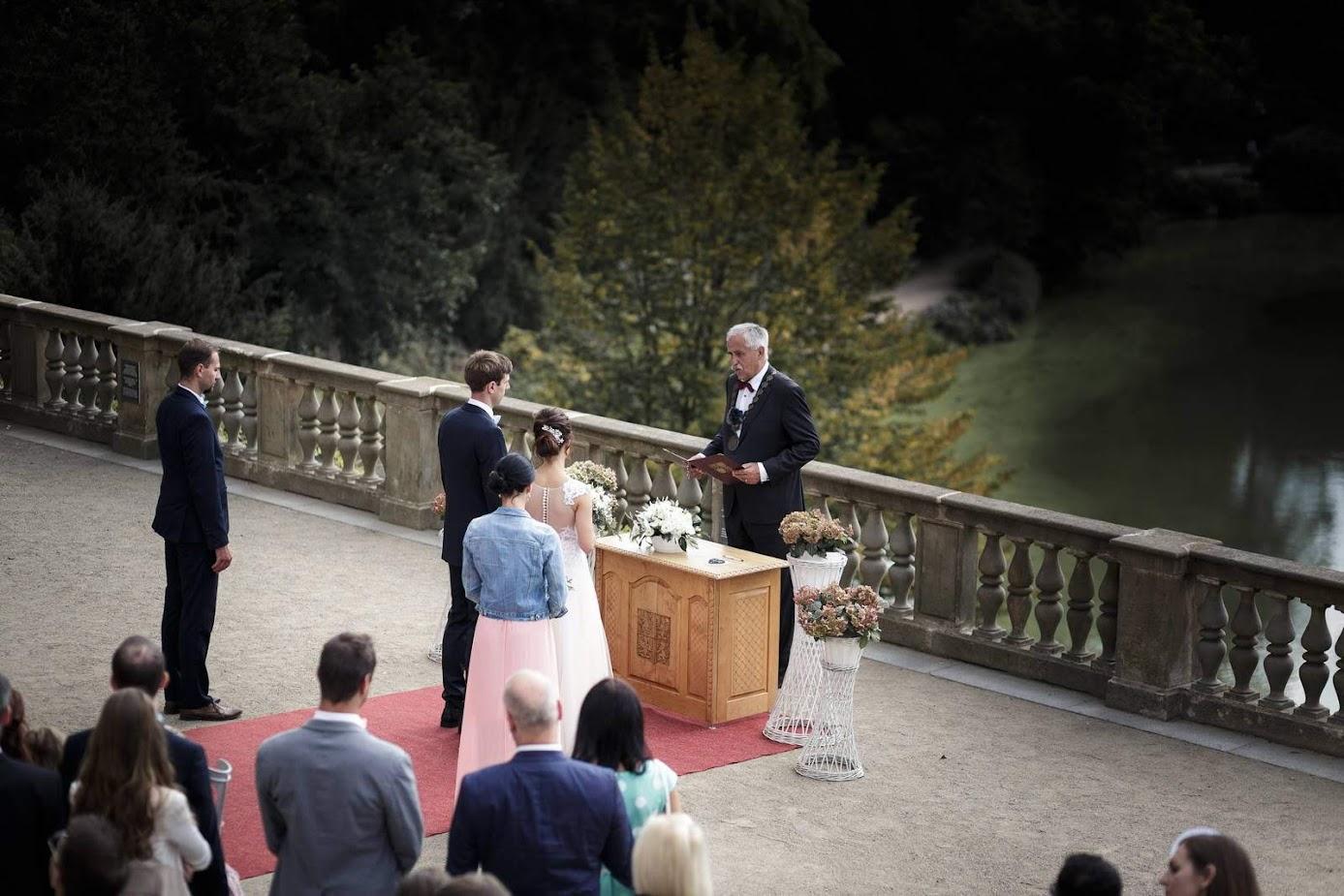 Svatba Praha Průhonice