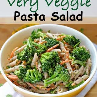 Very Veggie Pasta Salad.