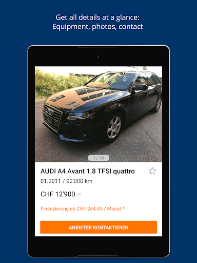 AutoScout24 Switzerland u2013 Find your new car  screenshots 9
