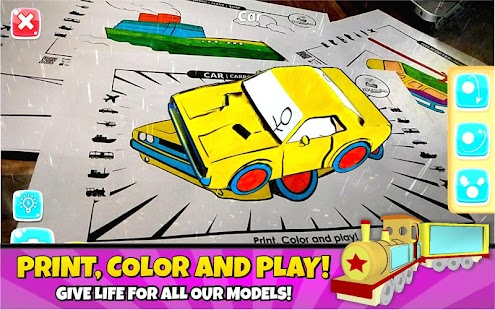 3D Coloring Pages  - AR App- screenshot thumbnail