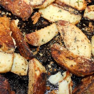 Grilled Parmesan Potato Wedges