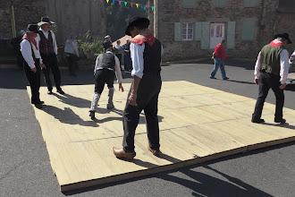 Photo: Testing the Dance Floor - Auvergne Festival  in St-Pal-de-Senouire