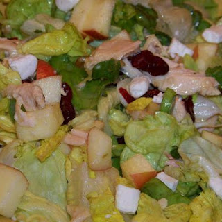 Chicken and Bib Lettuce Salad With Dijon and Tarragon Vinaigrette