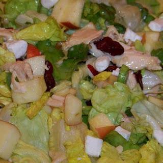 Chicken and Bib Lettuce Salad With Dijon and Tarragon Vinaigrette