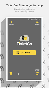 TicketCo - Event organiser app- screenshot thumbnail