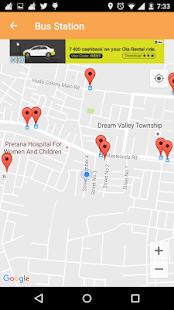 NearBy Locations screenshot