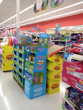 Photo: We found the Easter section! If we had come in the other front doors, we would have seen it right away, but we came in the grocery & Sears Outlet side so it wasn't clear to us right away where it was. I would have liked directional signs showing us which way Easter is.