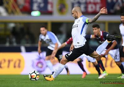 Inter Milan pakt toch nog punt dankzij Icardi
