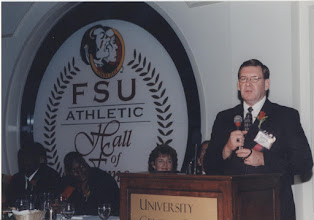 Photo: 2000 Hall of Fame Banquet - On behalf of Paul Wilson