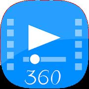 VR 360 video player