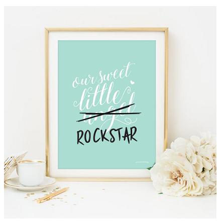 Poster Rockstar