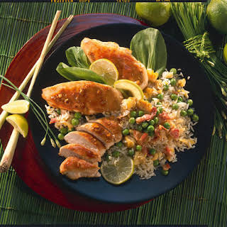 Spicy Chicken with Fried Rice.