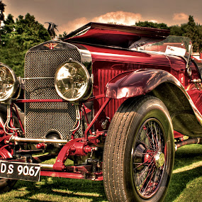by Jade Newman - Transportation Automobiles ( car, old, hdr, vintage, classic )