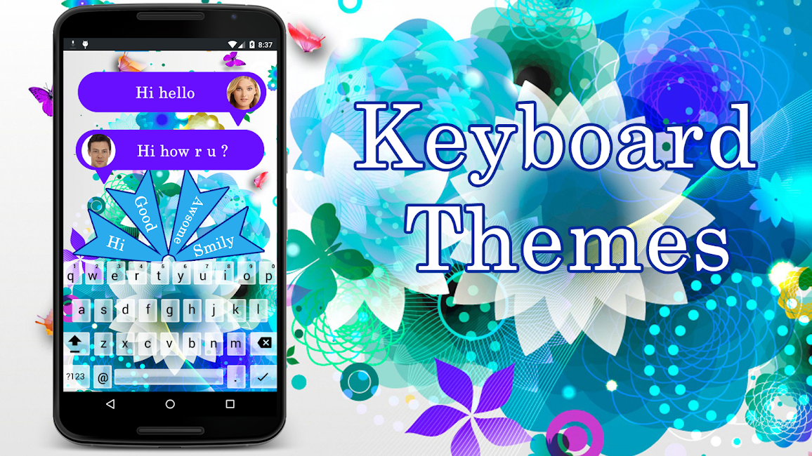 #2. Photo Keyboard Themes (Android)