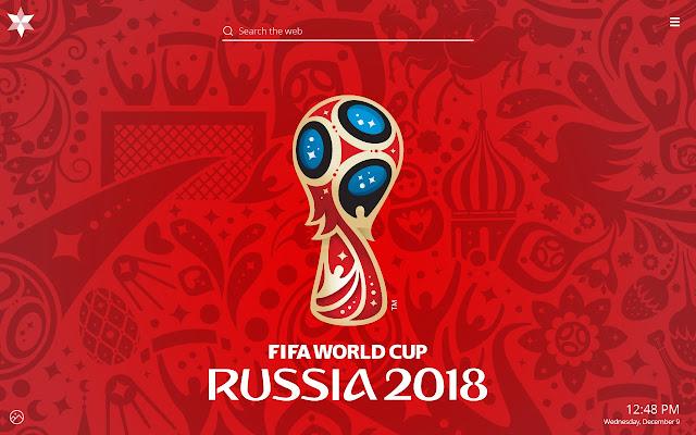 FIFA World Cup 2018 HD Wallpaper New Tab