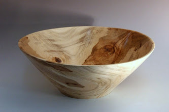 "Photo: Tim Aley - Bowl - 12"" x 5"" - ambrosia maple"