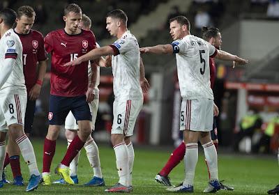 Geen 6 op 6: teleurstellend puntenverlies voor bleke Rode Duivels in Tsjechië