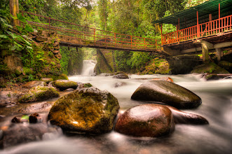 Photo: Surround Me  One of the most beautiful places I have had the pleasure of spending some alone time. This is Cascade Nambillo in the rainforest of Ecuador.  Happy Monday, folks :)