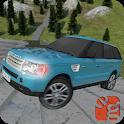 Real Offroad Rover Stunts : Dragon Road Mega Ramps icon